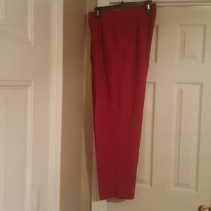Versailles Red pants